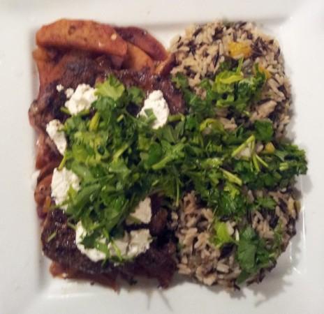 Steak and Wild Rice