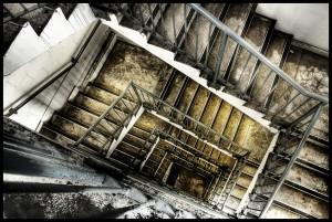 Concrete Stairwell
